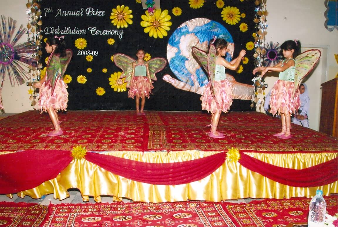 Stage Decoration Ideas For School Function